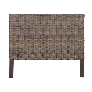 Hartman Natural Wash Rustic Seascape Queen Headboard