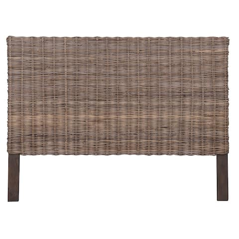 East At Main's Holly Natural Rustic Seascape King Headboard