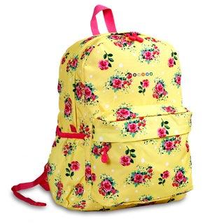 J World English Rose OZ Expandable 17-inch Backpack