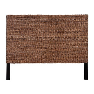 Lafayette Natural Rustic Abaca Queen Headboard