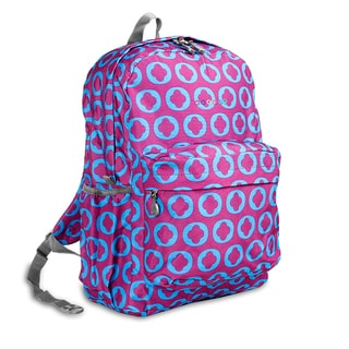 J World J Logo OZ Expandable 17-inch Backpack