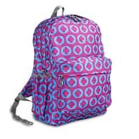 J World J Logo OZ Expandable 17-inch Backpack