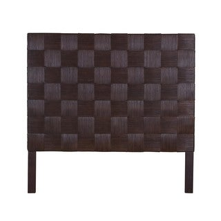 Greeley Aldiv Brown Modern Square Queen Headboard