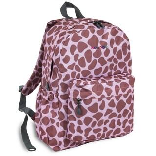 J World Pink Zulu OZ Expandable 17-inch Backpack