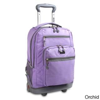 J World Sundace II Rolling 15.4-inch Laptop Backpack