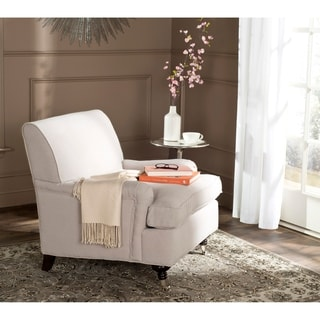 Safavieh Chloe Taupe Club Chair