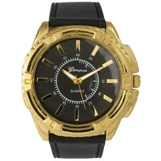 Olivia Pratt Men's Classic Oversized Dial Watch