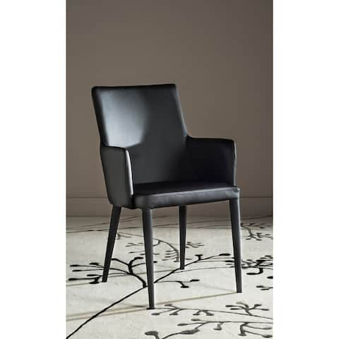 "Safavieh Mid-Century Dining Summerset Modern Black Arm Chair - 23.6"" x 21.6"" x 35.5"""