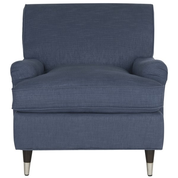 Marvelous Safavieh Chloe Navy Club Chair   Free Shipping Today   Overstock.com    17507046