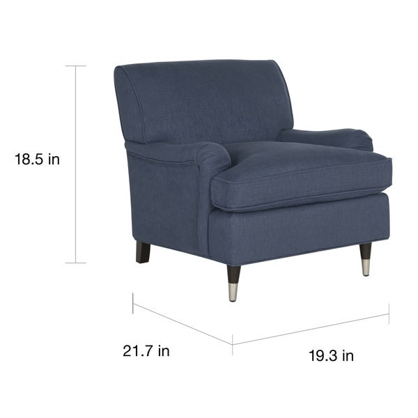 Safavieh Chloe Navy Club Chair   Free Shipping Today   Overstock.com    17507046