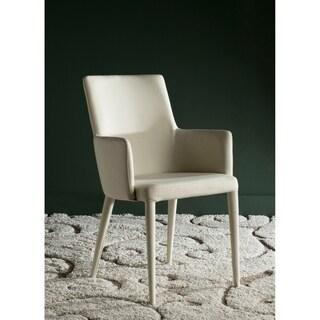 Safavieh Metropolitan Dining Summerset Beige Arm Chair
