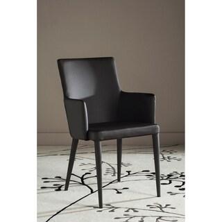 Safavieh Mid-Century Dining Summerset Modern Brown Arm Chair