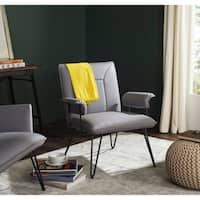 Safavieh Mid-Century Modern Johannes Grey Arm Chair