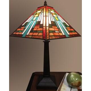 Elena 1-light Tiffany-style 12-inch Table Lamp