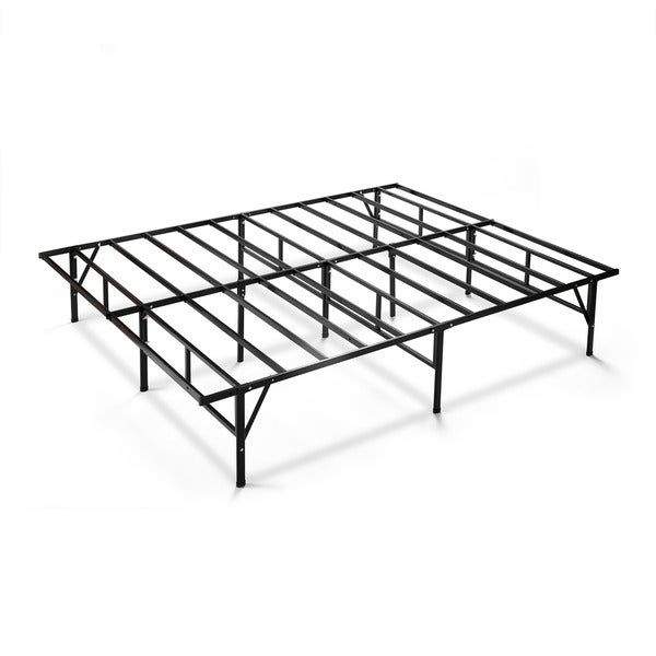Shop 14-inch Smartbase DIY Full Bed Frame - Free Shipping Today ...
