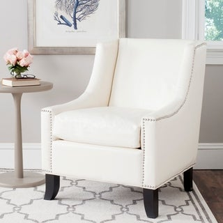 Safavieh Daniel Antique White Club Chair
