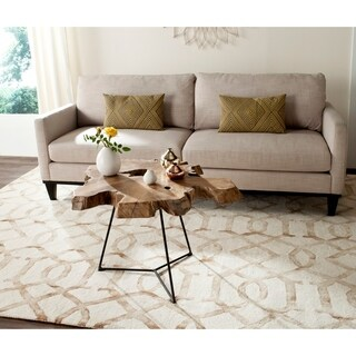 Safavieh Babylon Natural Coffee Table