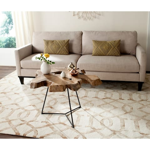 "Safavieh Babylon Natural Coffee Table - 36"" x 36"" x 18"""