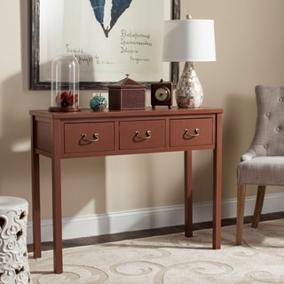 Safavieh Cindy White Console Table 15052233 Overstock