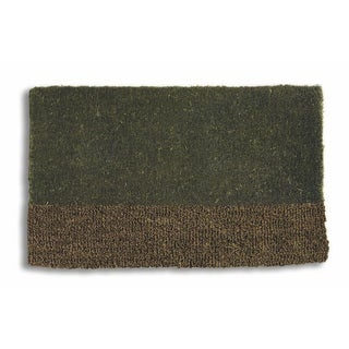 Two-Tone Coir Doormat