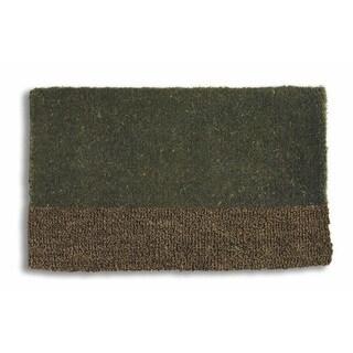 Two-Tone Coir Doormat