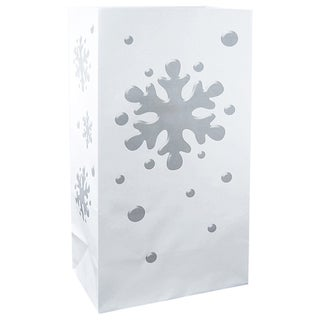 Luminaria Bags Snowflake (24 Count)