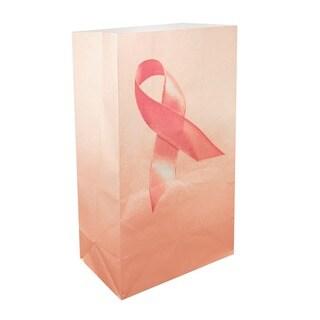 Luminaria Bags Pink Ribbon (24 Count)