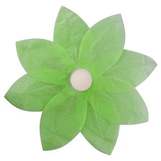 Floating Lotus Lanterns Green (6 Count)