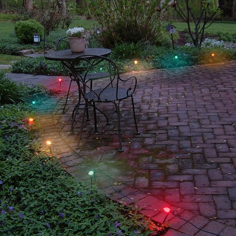 Electric Pathway Lights Multi Color (10 Count)