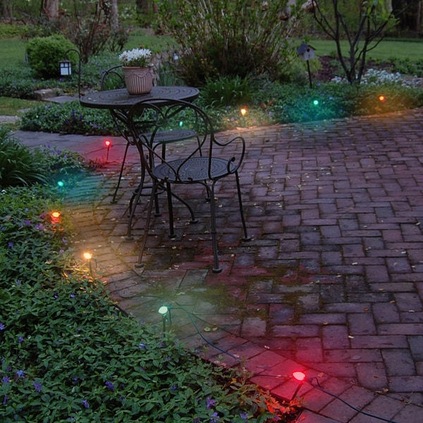 Shop Electric Pathway Lights Multi Color 10 Count Free