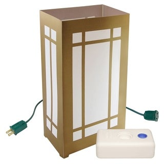 Electric Luminaria Kit with LumaBases Lantern (10 Count)