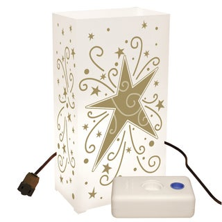 Electric Luminaria Kit with LumaBases Star (10 Count)