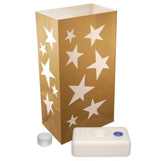 Luminaria Kit Stars (12 Count)