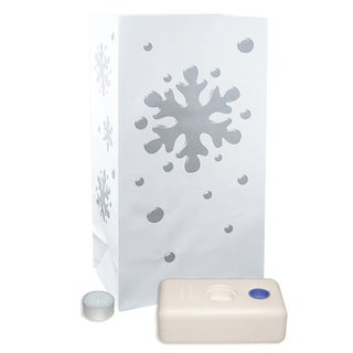 Luminaria Kit Snowflake (12 Count)