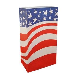 Flame Resistant Luminaria Bags Americana (100 Count)
