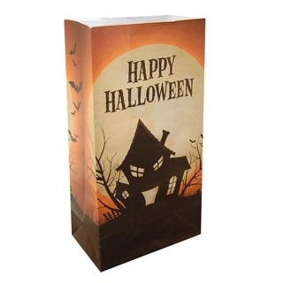Luminaria Bags Haunted House (24 Count)