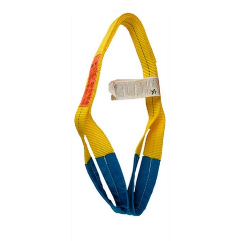 ASC Industries 2-inch x 8-foot 2-ply Polyester Web Sling with 6200 Pound Vertical Capacity