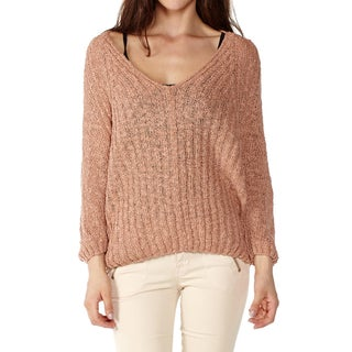 Dinamit Women's Cotton V-Neck Knit Pullover (4 options available)