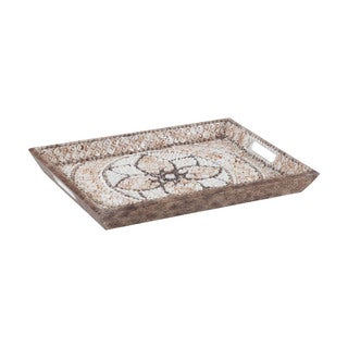Dimond Home Shell Mosaic Serving Tray