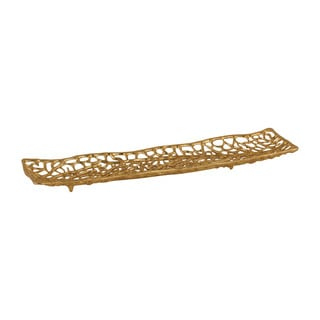 Dimond Home Leaf Veins Centerpiece Platter