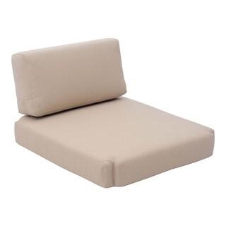 Bilander Beige Cushion Arm Chair