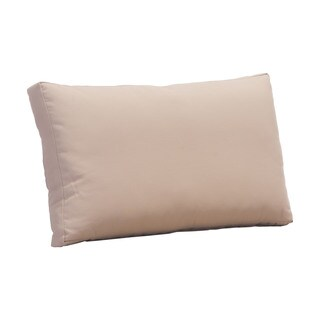 Glass Taupe Cushion Beach Back