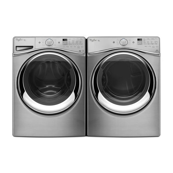 Whirlpool Duet Steam Front Load Washer And Gas Dryer Pair