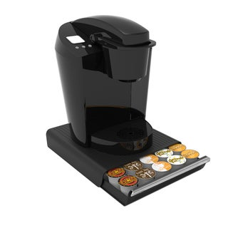 Mind Reader COUPE Black 30-capacity Coffee Pod Drawer