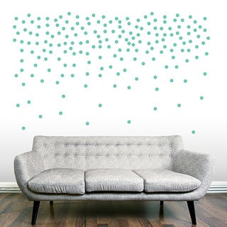 "Set of 200 - 1"" Confetti Dots Wall Decals"