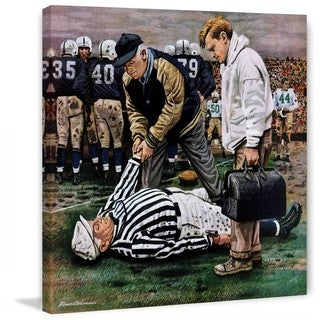 """Marmont Hill - """"Ref Out Cold"""" by Stevan Dohanos Painting Print on Canvas"""