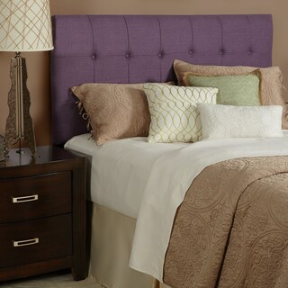 Humble + Haute Stratton King Size Iris Linen Tufted Upholstered Headboard