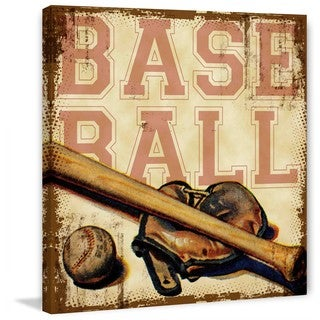 """Marmont Hill - """"Baseball"""" by Saturday Evening Post Painting Print on Canvas"""