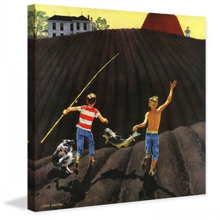 """Marmont Hill - """"Catfish"""" by John Falter Painting Print on Canvas"""