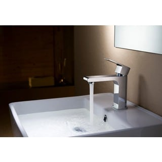 Stufurhome Monty 1.2 GPM Single Hole Chrome Faucet